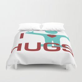 I heart Hugs Duvet Cover