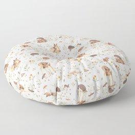 Woodland Critters  Floor Pillow