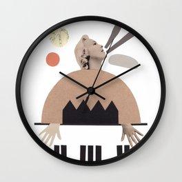 La pianista de jazz Wall Clock