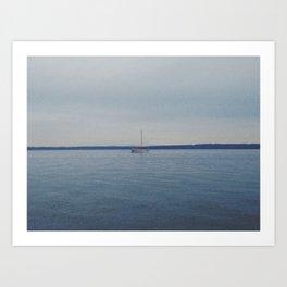 Sailboat Art Print