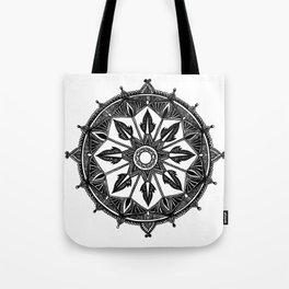 Nautical Mandala Tote Bag