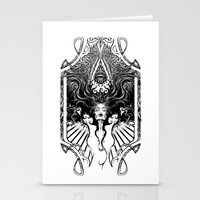 goddess Stationery Cards featuring Goddess by 6amcrisis