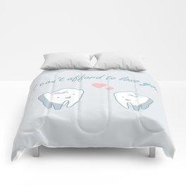 Teeth in Love  Comforters