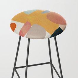 Modern Abstract Art 70 Bar Stool