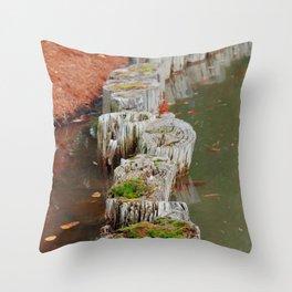 Stumps Throw Pillow