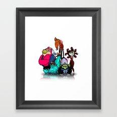 Bad Guys Framed Art Print
