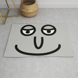 Smiley face rug Rug