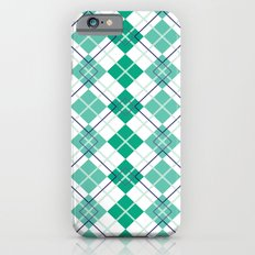Emerald Argyle Slim Case iPhone 6s