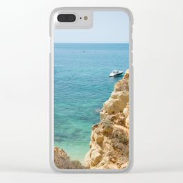 A small inlet suitable for swimming Clear iPhone Case