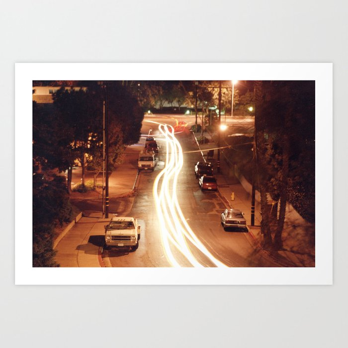Traffic Stream Art Print