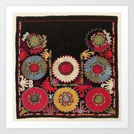 Lakai Uzbekistan Embroidery Print Art Print