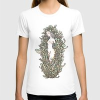 mushrooms T-shirts featuring Mushrooms by KuaKua's Nest