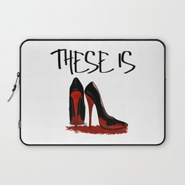 These is Red Bottoms Laptop Sleeve