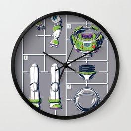 Supermodel Wall Clock