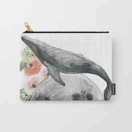 Moon Whale Carry-All Pouch