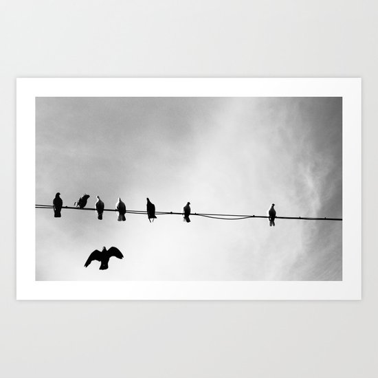 Wire Swapping Art Print
