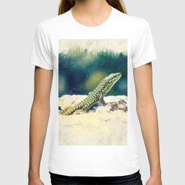 Erice art 11 Podarcis sicula T-shirt