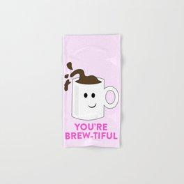 BREW-TIFUL Hand & Bath Towel