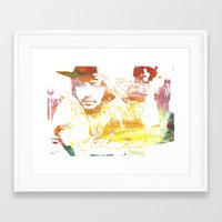 johnny depp Framed Art Prints featuring Johnny Depp by Nechifor Ionut