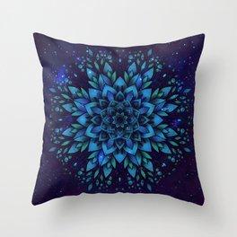 Sky flower Throw Pillow