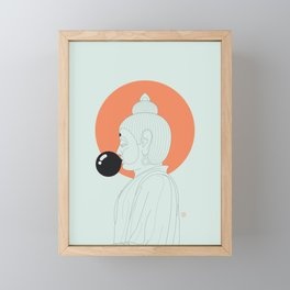 Buddha : Concentrate on the Void! Framed Mini Art Print