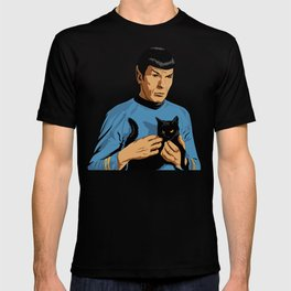 Spock's cat T-shirt