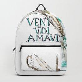 Veni vidi amavi Backpack