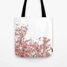 Cherry Blossoms (Color) Tote Bag