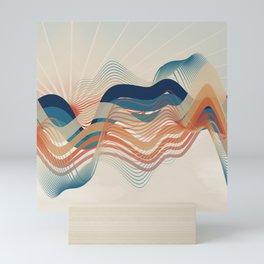Summer Ocean Mini Art Print