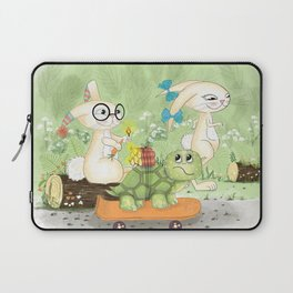 Fast as the rabbit Laptop Sleeve