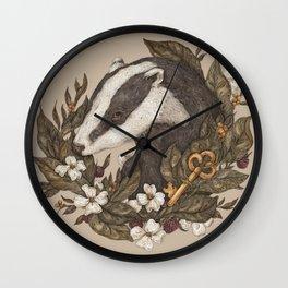 Badger Wall Clock