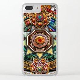 Extraordinary Celtic Mandala Clear iPhone Case