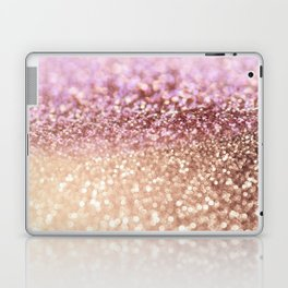Mermaid Rose Gold Blush Glitter Laptop & iPad Skin
