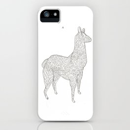 Lamarama iPhone Case