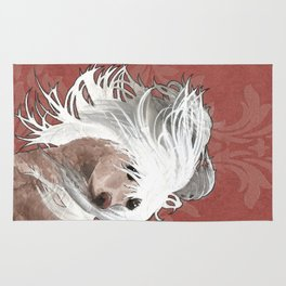 Chinese Crested  Rug