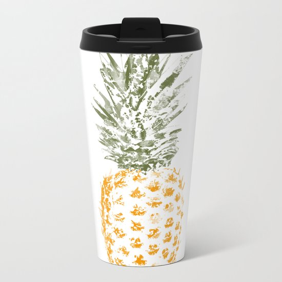 Pineapple I Metal Travel Mug