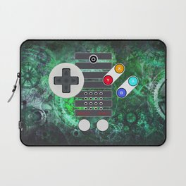 Classic Steampunk Game Controller Laptop Sleeve