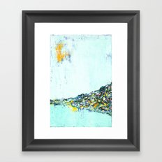 City On A Hill Framed Art Print