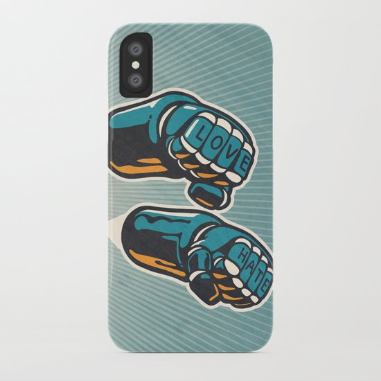 Love/Hate iPhone Case