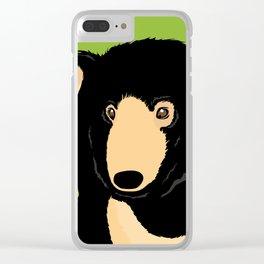 Sloth Bear Clear iPhone Case