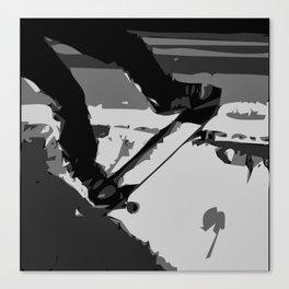 Half Pipe Skateboarding Canvas Print