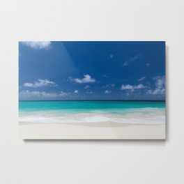 Beautiful Beach Tropical Metal Print