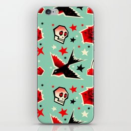 Swallow the cherry iPhone Skin