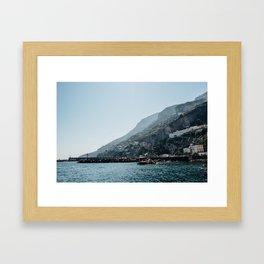 Amalfi Coast 10 Framed Art Print