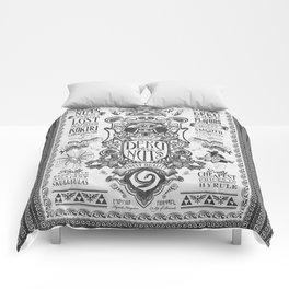 Legend of Zelda inspired Deku Nuts Vintage Advertisement Comforters