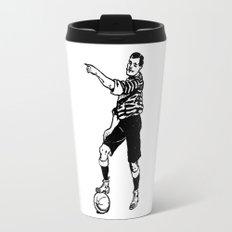 Football Soccer Travel Mug