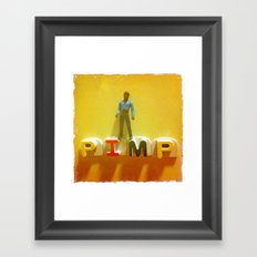 Lando at the Partay Framed Art Print