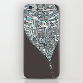 Crazy on the Inside iPhone Skin