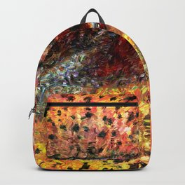 Sedimentary Rock Abstract Backpack