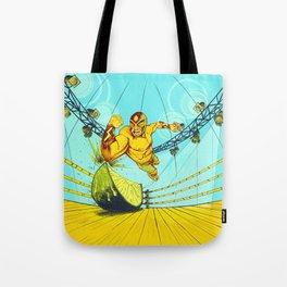Luchador Lime Tote Bag